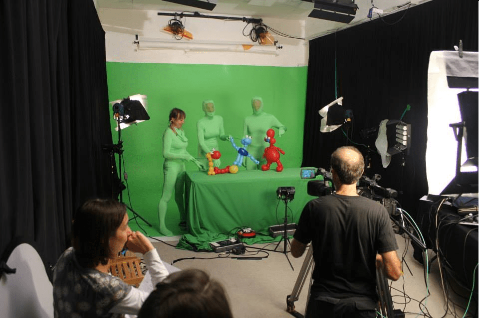 Filming with Puppets