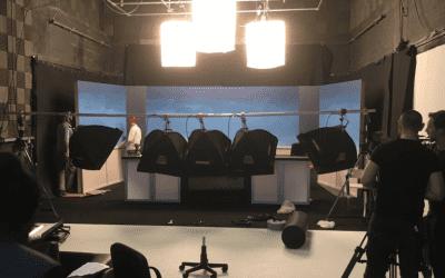 Recording Sound In Studio 1