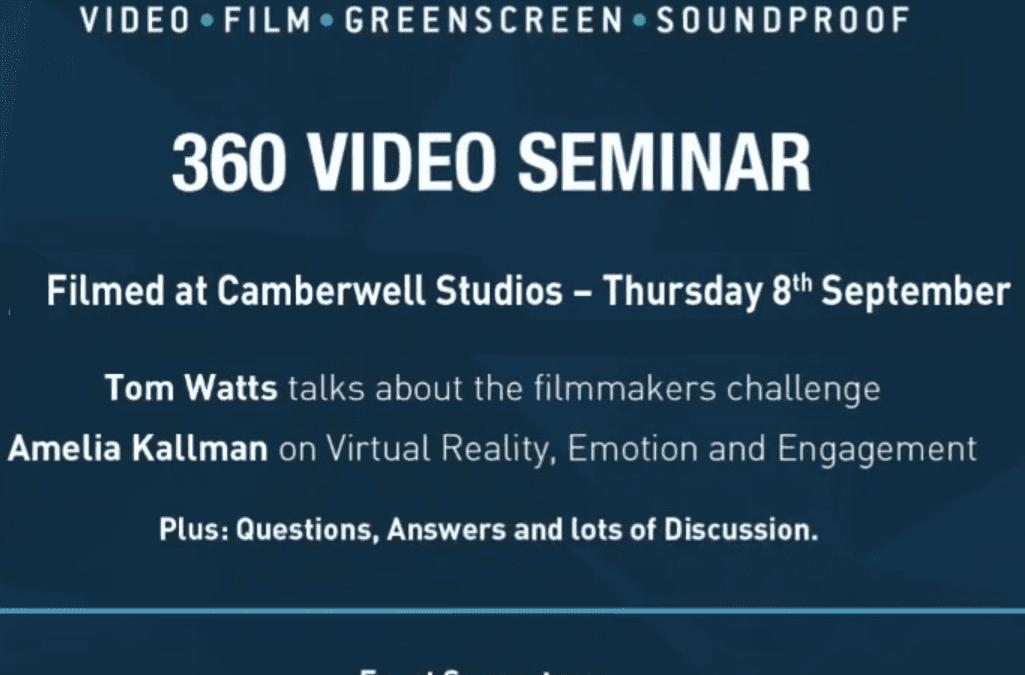360 Video Seminar: Full Video