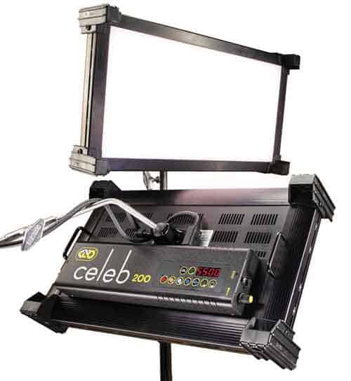 Kino Flo Celeb 200 DMX LED – Overview and Operation
