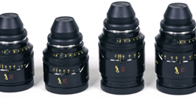 The Cooke Mini S4 Lens-Set