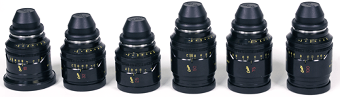 The Cooke Mini S4 Lens-Set