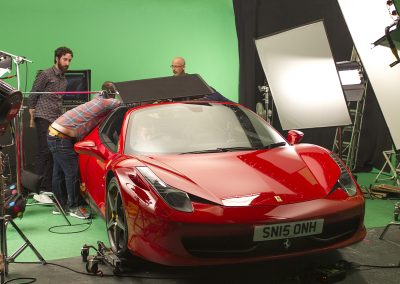 Car Shoot in Studio 1