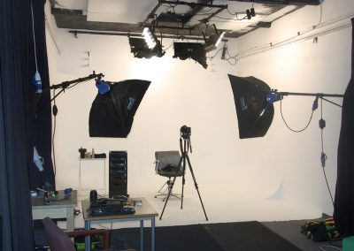 Studio 2- White set up