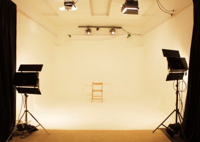 white studio space