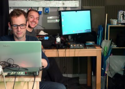 professional production crew