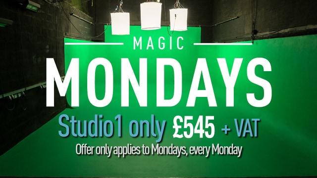 magic monday banner