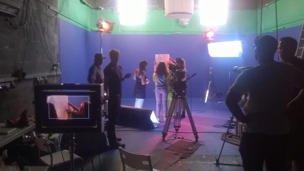 Studio 1 - a bluescreen_shoot