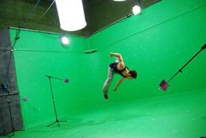 dancer on Green Screen