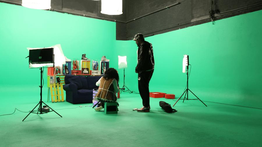 filming content for social media