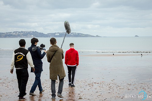 shooting-day-on the beach
