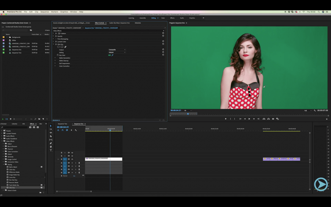 Keying Greenscreen Tutorial