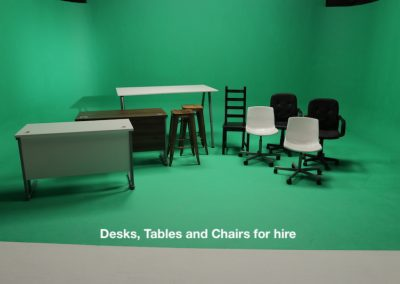 Desks and Chairs for hire