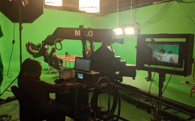 Motion Control Case Study: Green Screen Studio 1