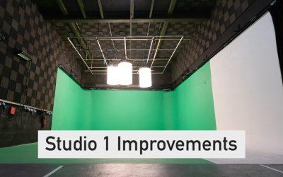 Studio 1 Improvements – June 2020