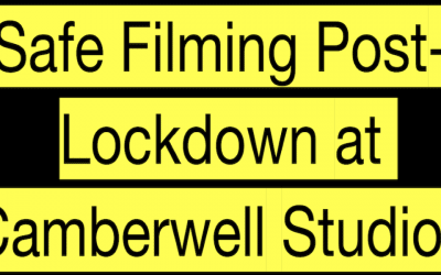 Safe Filming Post-Lockdown at Camberwell Studios