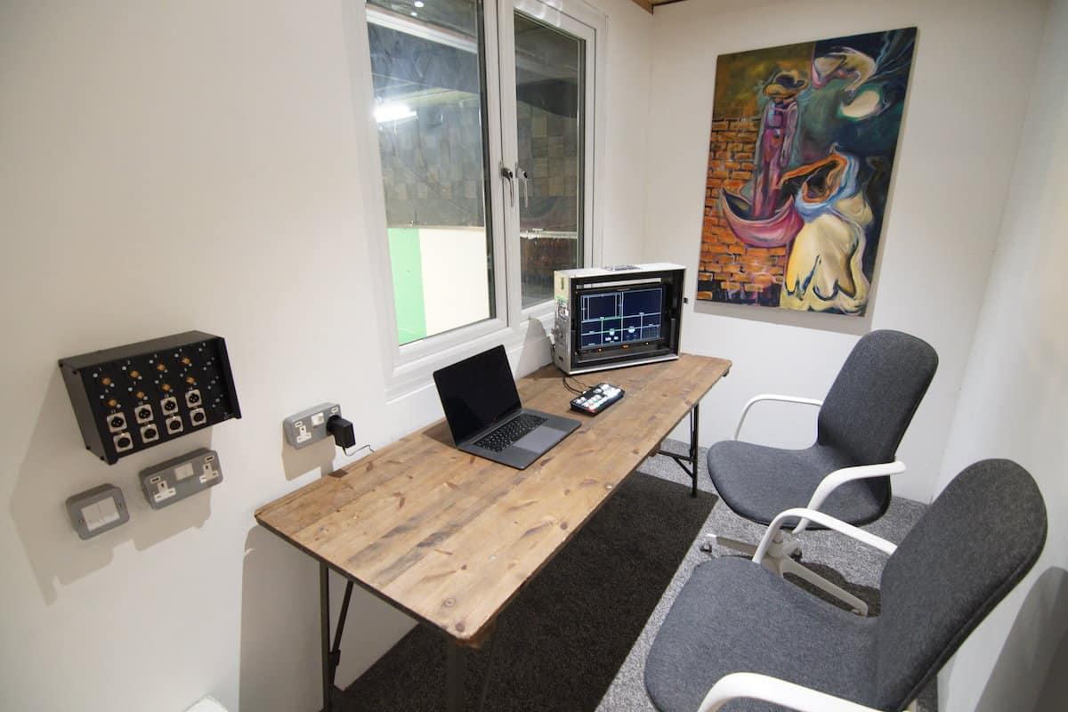 inside studio 1 gallery